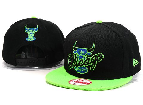 Chicago Bulls NBA Snapback Hat YS194